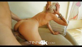 Cock sucking blonde pov teen