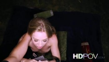 Cockmonster fucks her ass